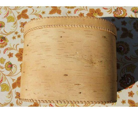 """Хлебница большая овальная """"Олени"""". Короб из бересты, фото , изображение 4"""