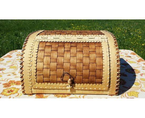 Хлебница плетеная пристенная, фото , изображение 2