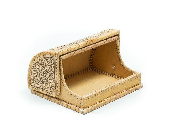 Хлебница на 1 булку «Снегири», фото , изображение 3