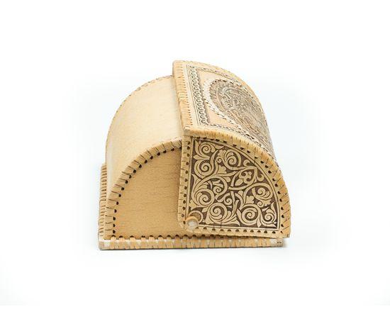 Хлебница на 1 булку «Снегири», фото , изображение 5