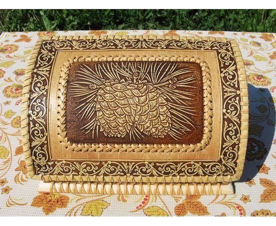Хлебница «Шишки на ветке», фото