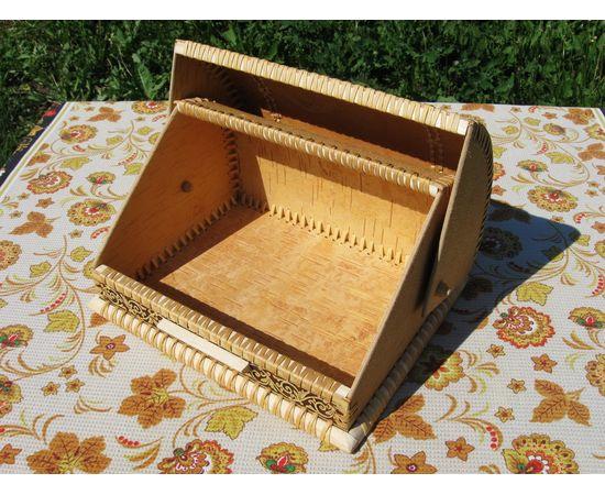 Хлебница «Шишки на ветке», фото , изображение 4