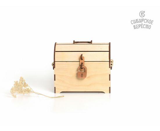 Сундучок деревянный малый, фото