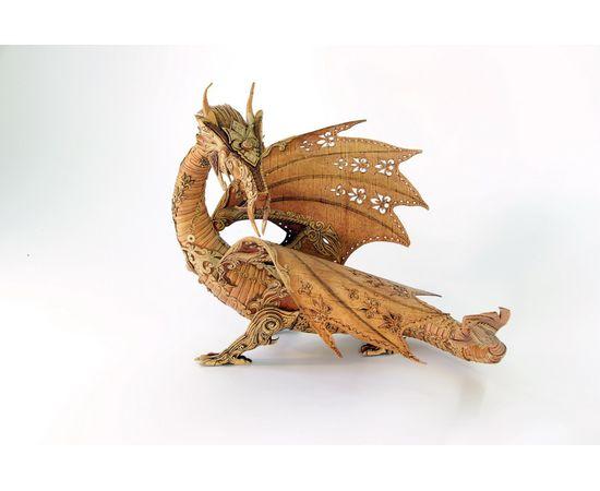 Дракон из бересты, фото