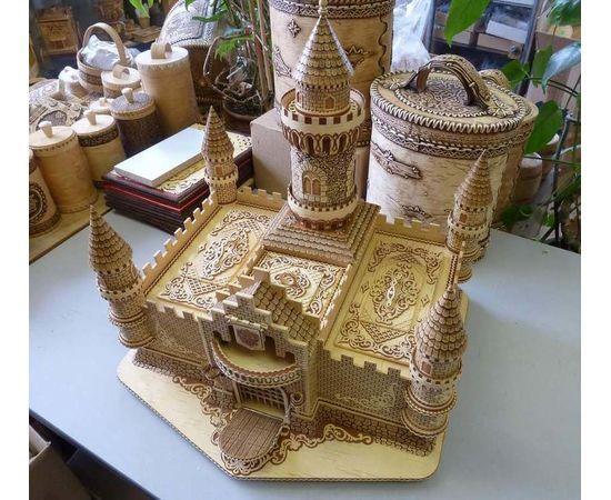 Замок из бересты, фото