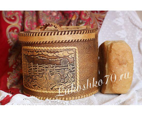 """Берестяной короб """"Плетень"""", фото , изображение 7"""