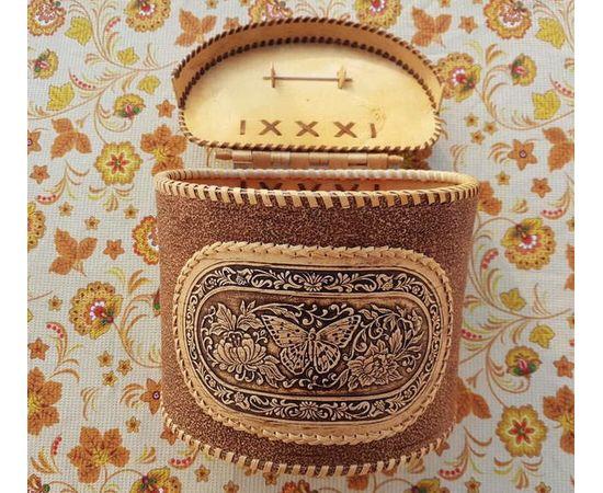 """Короб из бересты """"Бабочка"""", фото , изображение 2"""