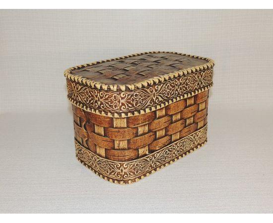 Набор из двух плетеных коробов, фото , изображение 5