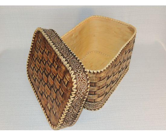 Набор из двух плетеных коробов, фото , изображение 7