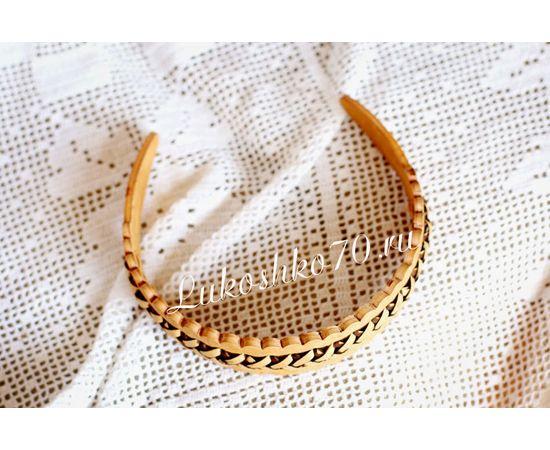 Ободок из бересты плетеный, фото , изображение 2