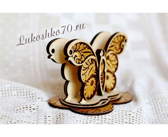 """Салфетница большая """"Бабочка"""", фото , изображение 2"""