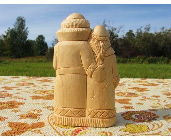 """Статуэтка """"Дед Мороз и Снегурочка"""", фото , изображение 2"""