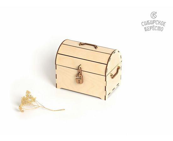 Сундук деревянный средний, фото , изображение 2