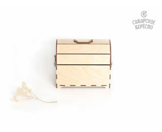 Сундук деревянный средний, фото , изображение 4