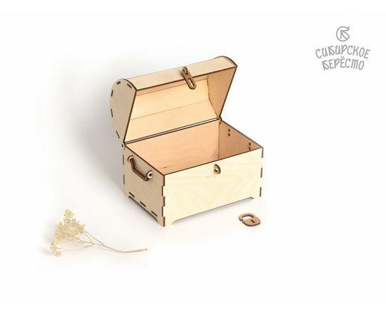 Сундук деревянный средний, фото , изображение 5