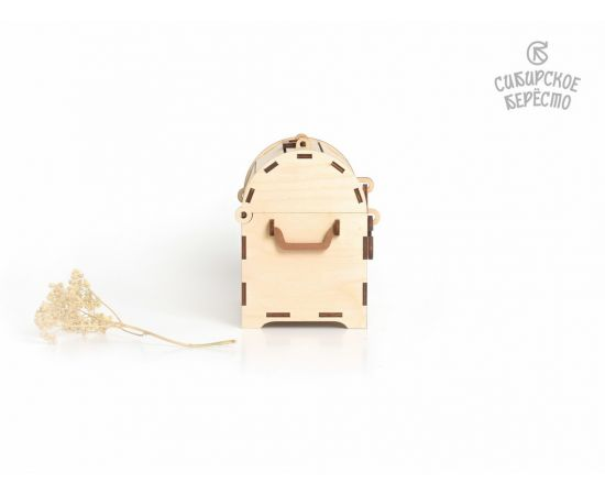 Сундучок деревянный малый, фото , изображение 2
