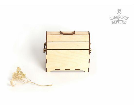 Сундучок деревянный малый, фото , изображение 3