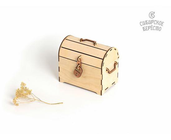 Сундучок деревянный малый, фото , изображение 4