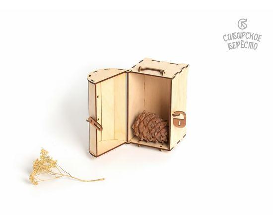 Сундучок деревянный малый, фото , изображение 5