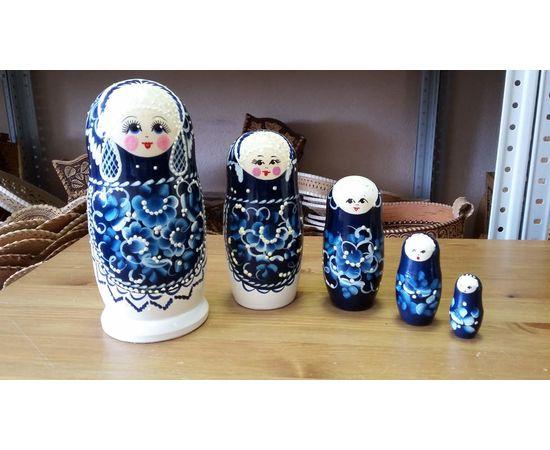 """Матрешка большая """"Жемчужина"""" 5 кукол, фото , изображение 2"""