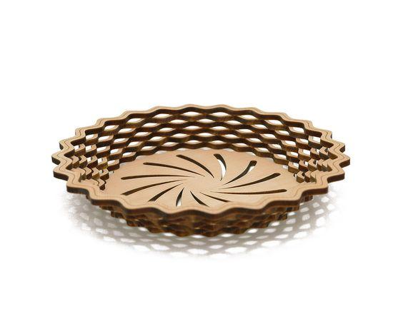 Тарелка из кедра круглая, фото , изображение 2