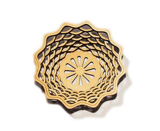 Ваза (Конфетница) из кедра, фото , изображение 2
