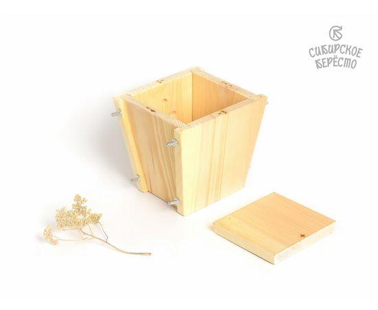 Пасочница деревянная, форма для творожной пасхи, фото , изображение 3