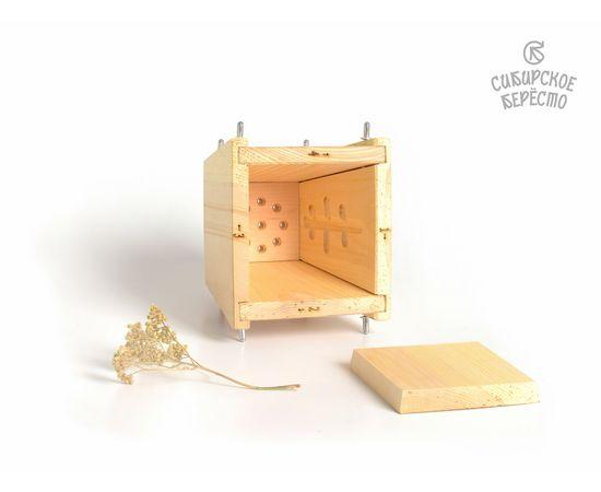 Пасочница деревянная, форма для творожной пасхи, фото , изображение 4