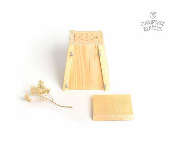 Пасочница деревянная, форма для творожной пасхи, фото , изображение 5