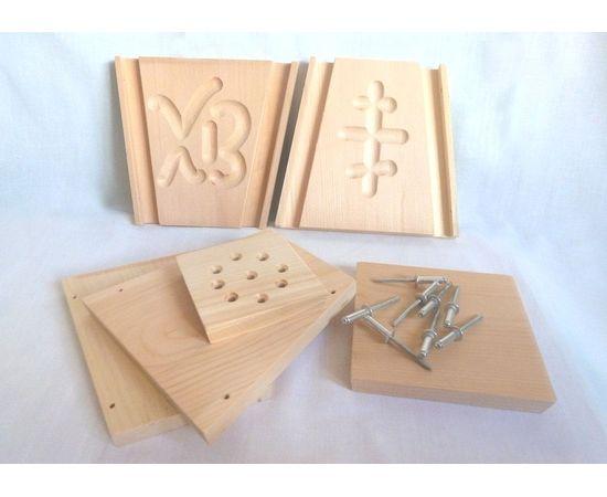 Пасочница деревянная, форма для творожной пасхи, фото , изображение 7