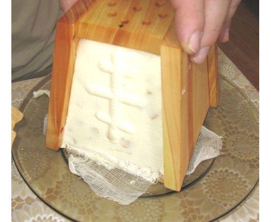 Пасочница деревянная, форма для творожной пасхи, фото , изображение 8