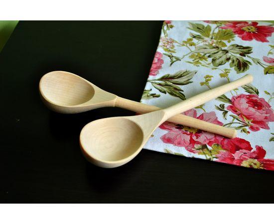 Ложка деревянная столовая (береза), фото , изображение 2