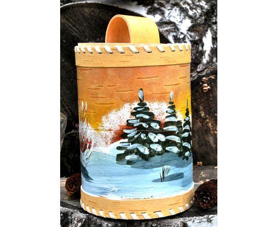 Туес из бересты «Зима», фото , изображение 2