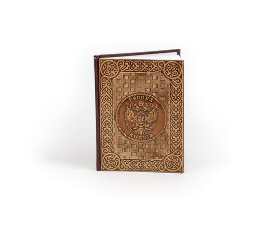 Ежедневник Блокнот украшенный берестой «Россия», фото , изображение 4
