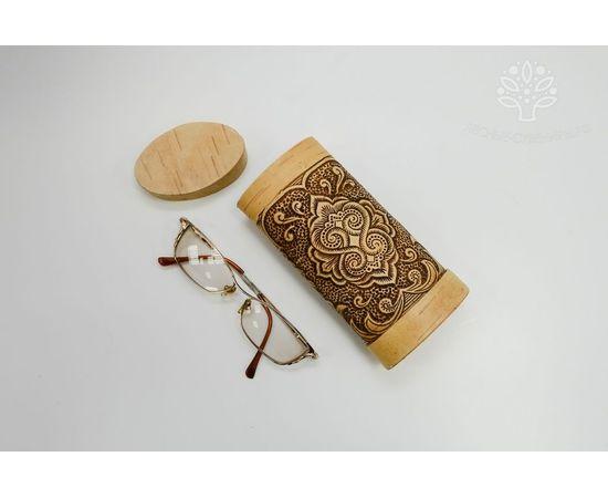 Футляр для очков из бересты «Красивые узоры», фото , изображение 5