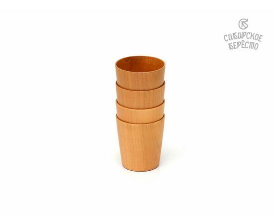 Стакан деревянный D8 H9, фото , изображение 3