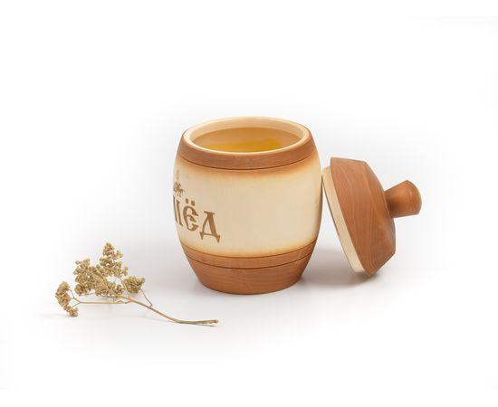 Бочонок для меда «Медовый» 1,0 кг, фото , изображение 3