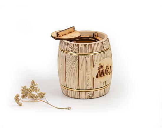Бочонок для меда «Бондарь» 1,0 кг, фото , изображение 2