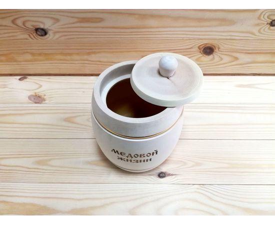 Бочонок для меда «Медовой жизни» 1,0 кг, фото , изображение 2