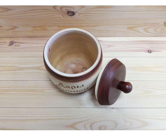 Бочонок деревянный «Дары Сибири» 1,5 кг, фото , изображение 2