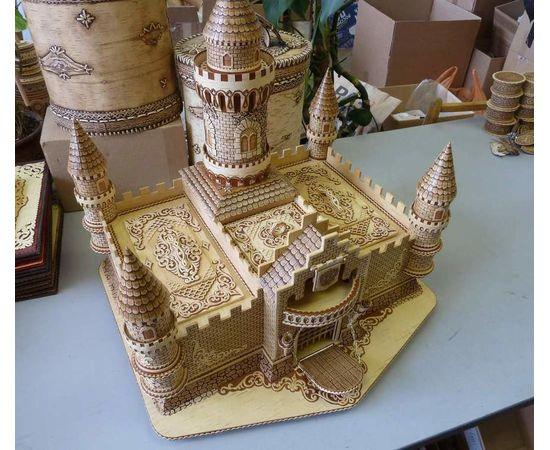 Замок из бересты, фото , изображение 3