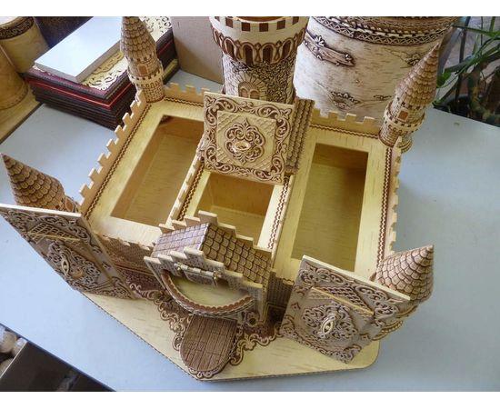 Замок из бересты, фото , изображение 5