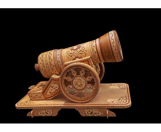 Пушка из бересты сувенирная, фото , изображение 2