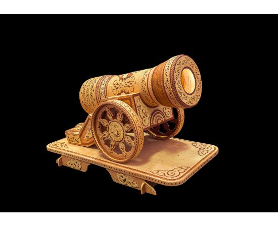 Пушка из бересты сувенирная, фото , изображение 3