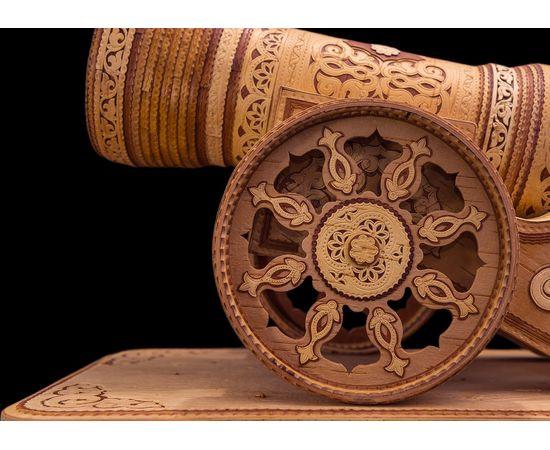 Пушка из бересты сувенирная, фото , изображение 4
