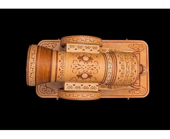 Пушка из бересты сувенирная, фото , изображение 8