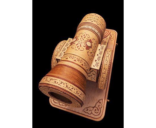 Пушка из бересты сувенирная, фото , изображение 9