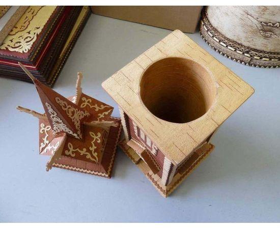 Дом с драконами из бересты, фото , изображение 4