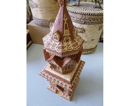 Башня из бересты, фото , изображение 3