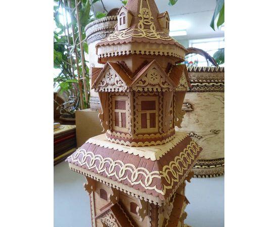 Башня из бересты, фото , изображение 5